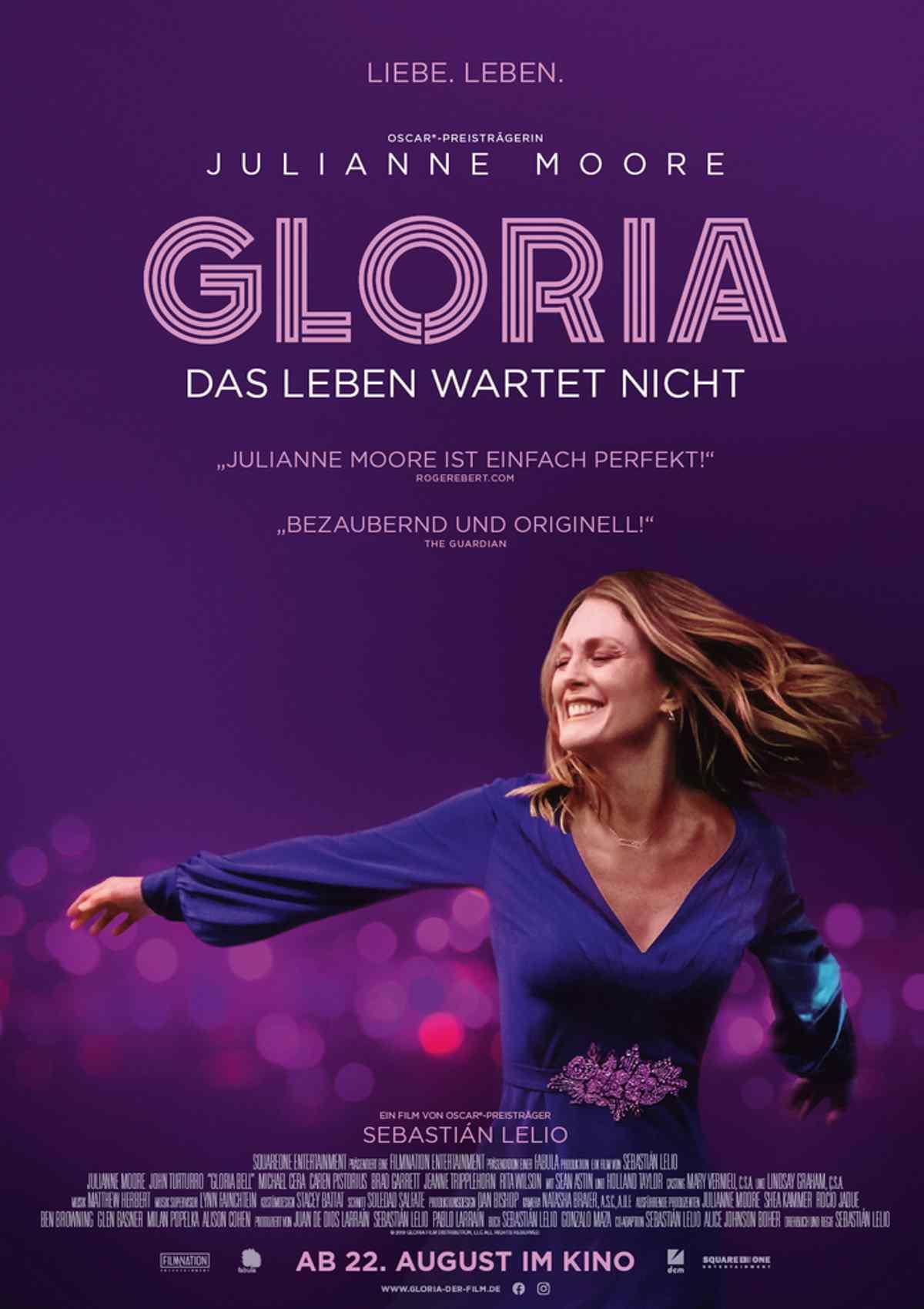 Gloria - Das Leben wartet nicht - Stadtkino & Theater Hallein